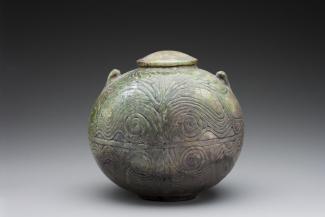 Wayne Higby's Inlaid Luster Jar