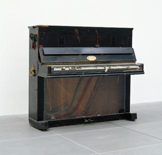 Nam June Paik's Prepared Piano.