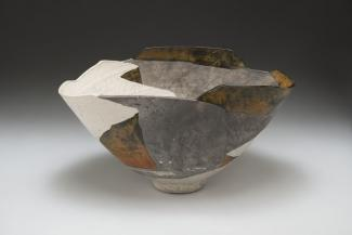 Wayne Higby's Return to White Mesa made from glazed earthenware.