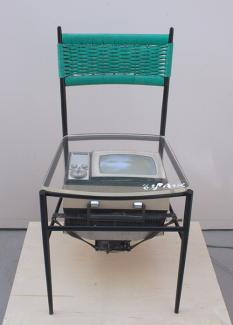 Name June Paik's TV Chair