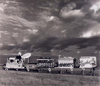 A photograph of a billboard in South Dakota.