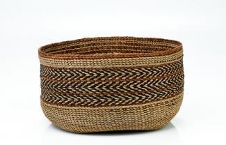 A basket that's circular.