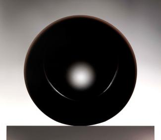 Eversley's black object made from cast polyester resin.