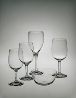 An image of five glasses.