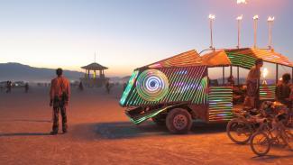 Burning Man, Art on the Playa