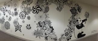 Montague Panda Mural