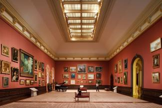 The Renwick Gallery's Grand Salon