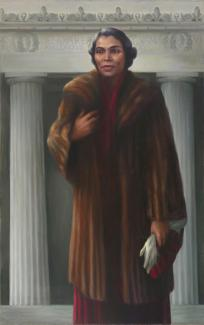 Betsy Graves Reyneau, Marian Anderson, 1955