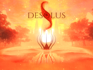 This is an image taken from the indie game Desolus.