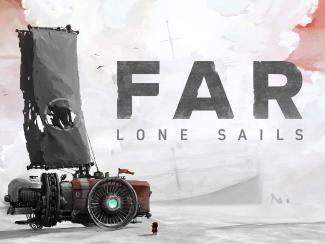 An image taken from the Indie Game, Far Lone Sails.