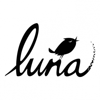 "A logo of India Game Lune with a bird sitting on top of the ""n"""