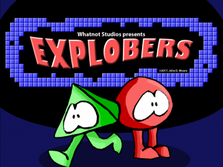 An image taken from the Indie Game, Explobers.