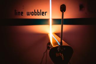 This is an image taken from the Indie Gamer, Line Wobbler