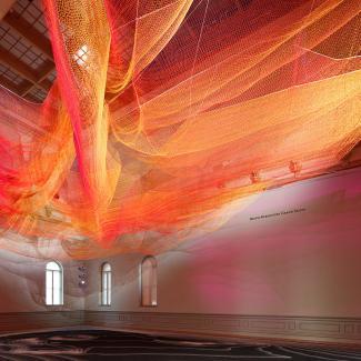 Exhibitions - Wonder, Echelman square