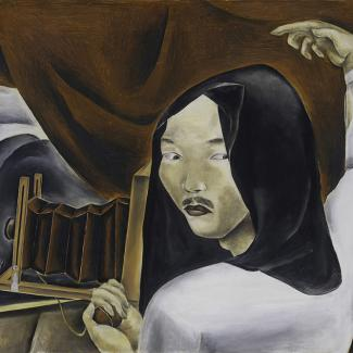 Exhibitions - Kuniyoshi, Essay, square