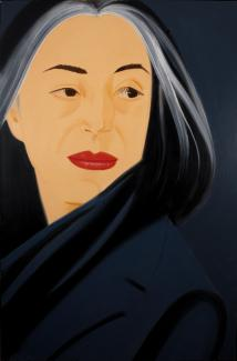 Exhibitions - Crosscurrents, Black Scarf, Alex Katz,