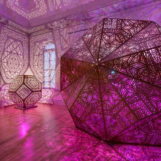 Exhibitions - Burning Man, hybycozo square