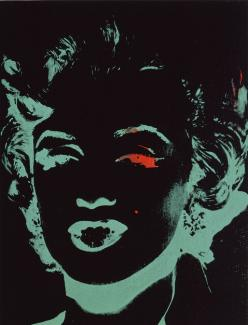 Exhibitions - Crosscurrents, Marilyn (Reversal),Andy Warhol