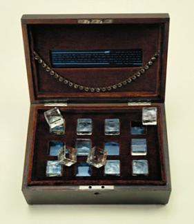 A box with jewelry.