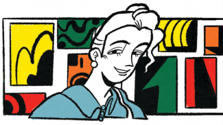 Blog - Comic, Carmen Herrera, homepage cover
