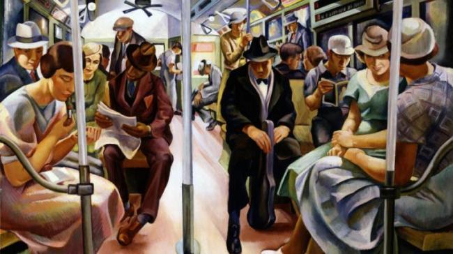 Blog, American Art Moments II, Subway, homepage, 852 x 477