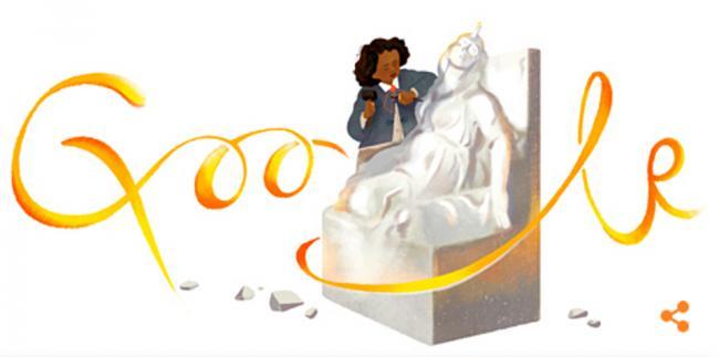 Splash Image - Let's Begin Black History Month with Edmonia Lewis' Google Doodle