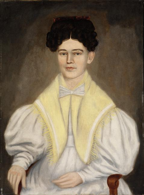 Portrait of a Woman with a Shawl
