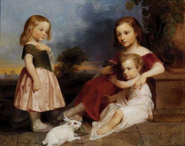 Portrait of the Downer Children