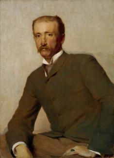 Stop 113: Portrait of Frank Hamilton Cushing