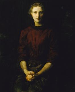 Stop 129: Portrait of a Lady (Mrs. William B. Cabot)