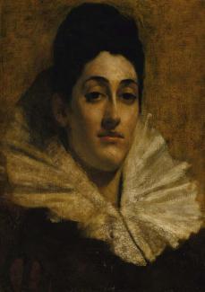 Stop 159: Portrait of Frances C. Houston
