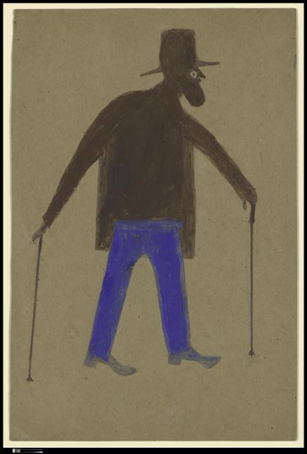 """Stop 12 – Leslie Umberger on   """"Self-Portrait"""""""