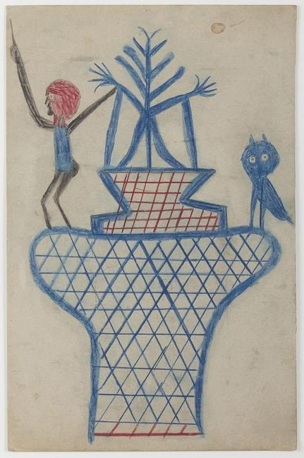 "Stop 6 - Randall Morris on ""Untitled (Basket, Man, and Owl)"""