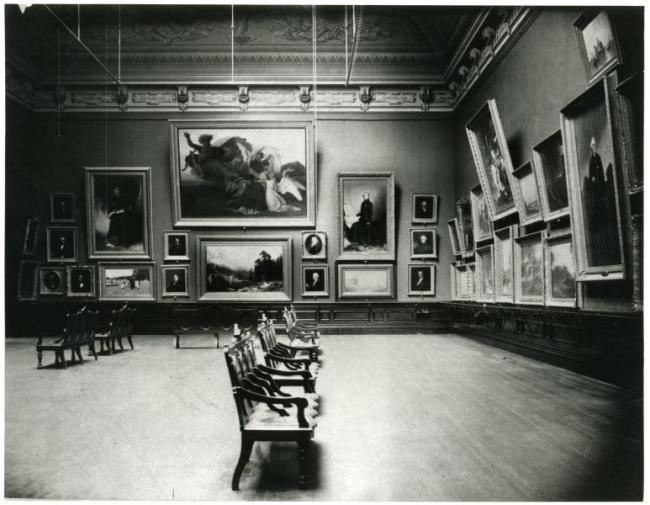 Interior of building when it was Corcoran gallery, late 19th century photo (5 of 16)