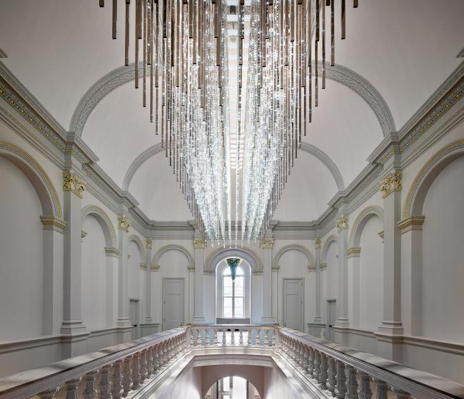 Leo Villareal's Volume light sculpture for WONDER at the Renwick Gallery. (10 of 18)