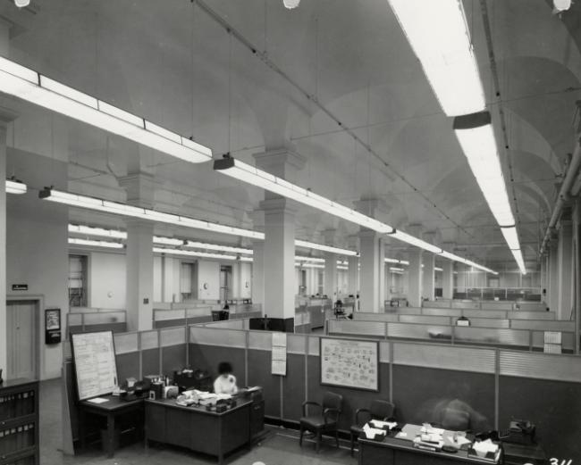 Civil Service Offices in the Old Patent Office Building, 1950s (10 of 18)