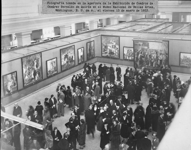 Gaucho Life Exhibit Opening in National Gallery of Art, 1933 (12 of 18)
