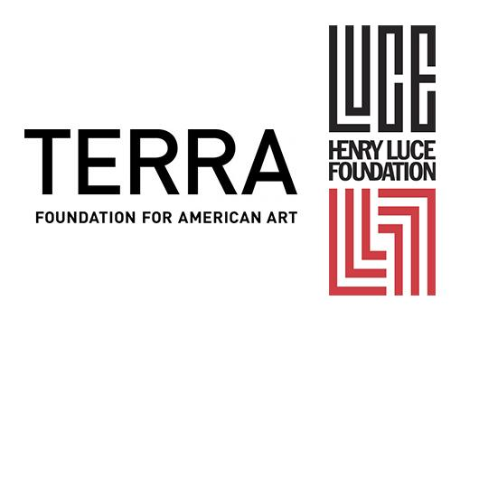 The Terra Foundation logo and the Henry Luce Foundation logo