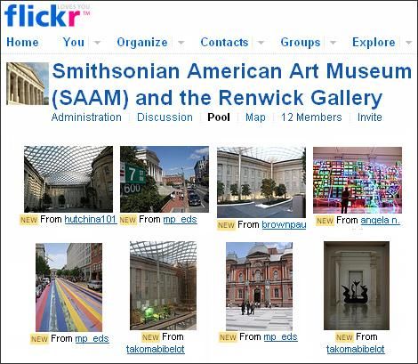 SAAM's Flickr Page