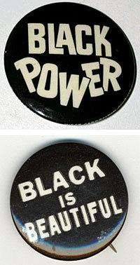 Two black power pins