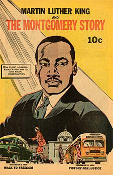 Martin Luther King and The Montgomery Story, comic book