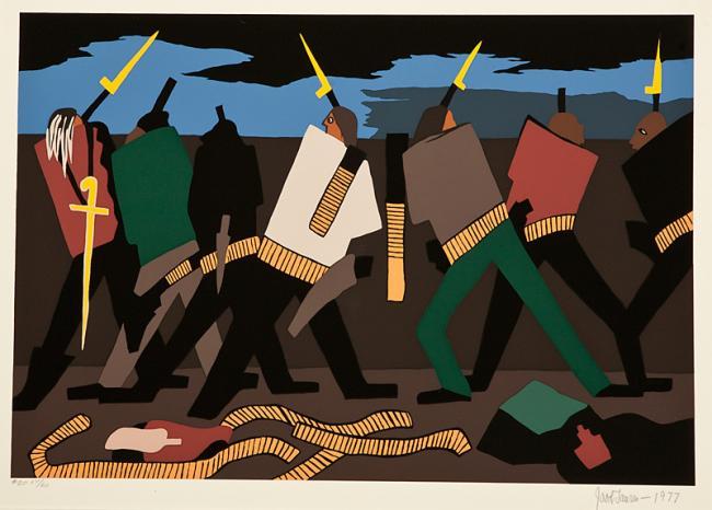 oh freedom! jacob lawrence john brown | smithsonian american art museum