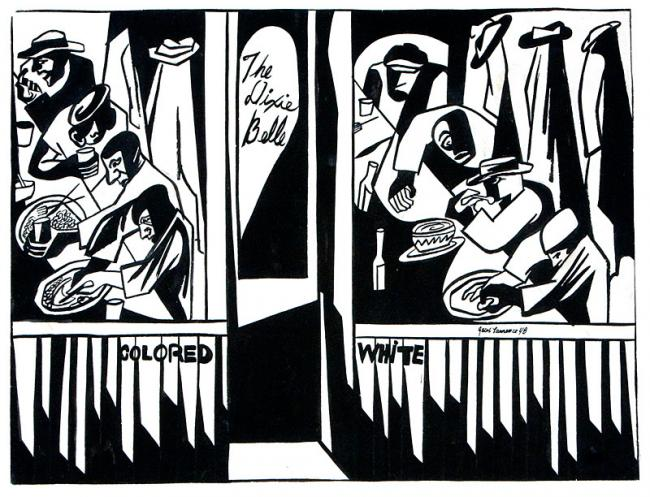 Jacob Lawrence Dixie Cafe