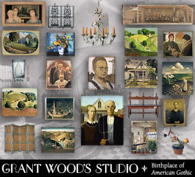 Grant Wood's Studio