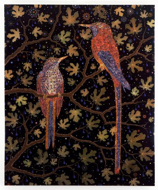 Folk Art Bird Drawings