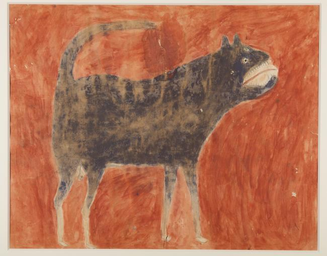 Exhibitions - Traylor, Mean Dog