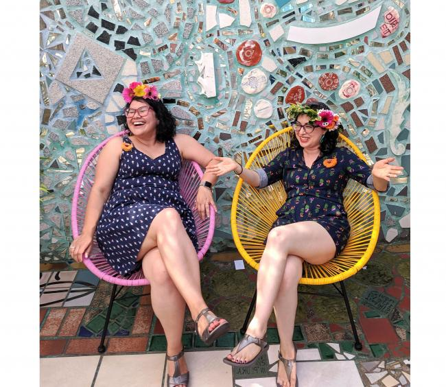 Blog - Beyond the Studio, Founders of Rock Paper Plant, Photo by Alicia Mazzara (cropped)