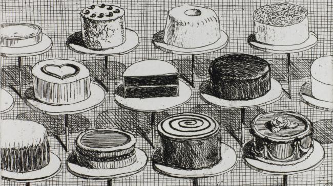 Blog - Wayne Thiebaud, Happy Birthday