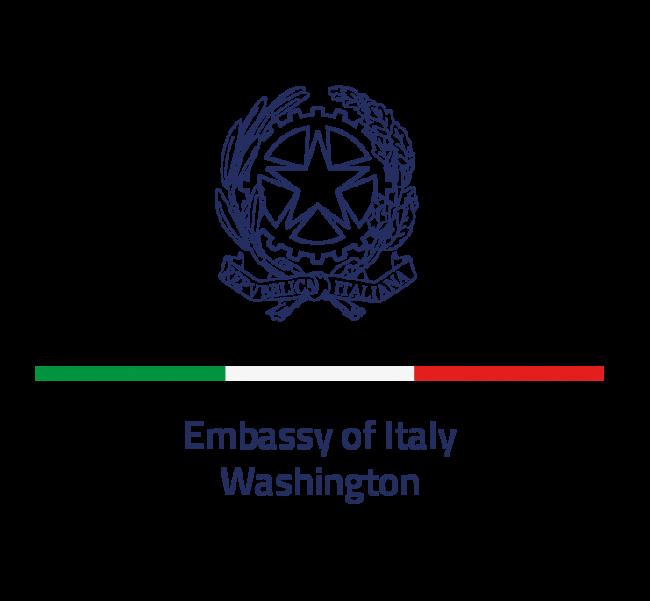 The MAECI Ambasciata Italia logo