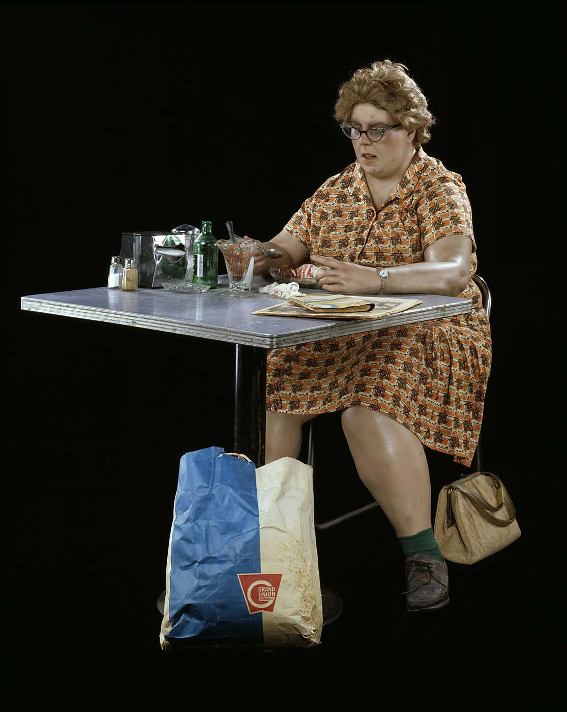 Blog Image 107 - Conserving Duane Hanson's Woman Eating